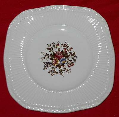 Wedgwood Edme England Square Luncheon Plate - Conway - 8 5/8""