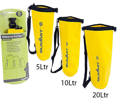 Floating Waterproof Kayaking Canoeing Dry Sack Bag Camping Sailing Fishing 5-20L