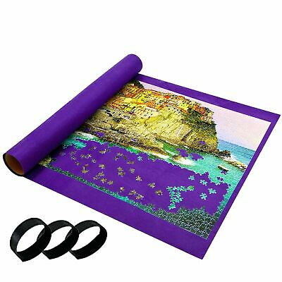 NEW Giant Jumbo Jigsaw Roll Up Puzzle Store Storage Mat Tube up to 3000 Pieces