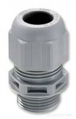 CABLE GLAND, PA, 4.5MM - 10MM, GREY,PK10 Part # WISKA 10066411