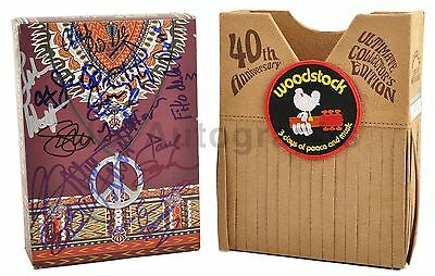 Woodstock - Autographed 40th Anniversary DVD Box Set - Signed by 24