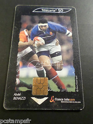 Telecarte France, Sport Rugby, Benazzi, Usagee, Phone Card