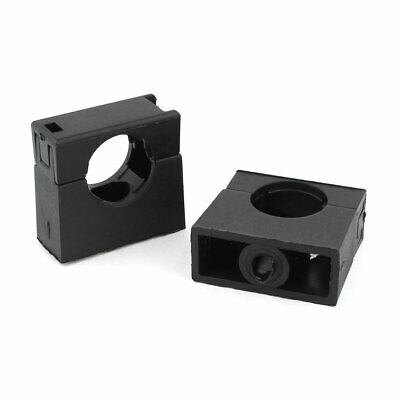 Black Fixed Mount Pipe Clip Bracket Clamp for AD18.5 Corrugated Conduit