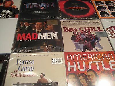 Soundtrack Colored Vinyl Limited Editions Superfly Gump High Fidelity 40 Lp Set