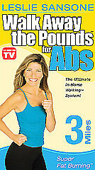 Leslie Sansone: Walk Away the Pounds for Abs: 3 Miles [VHS]