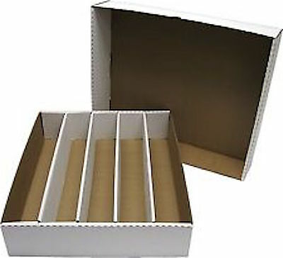 10 BCW Super Monster 5000 Card Storage Box with Lid - NEW - Sports Cards
