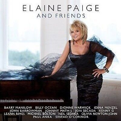 Elaine Paige And Friends CD NEW 2010 Paul Anka/Dionne Warwick/Johnny Mathis