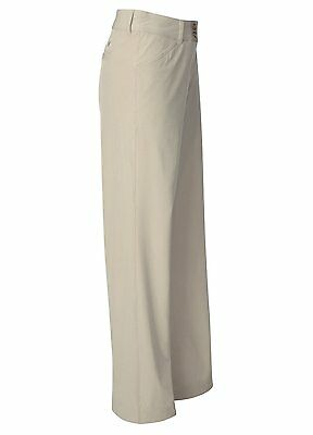 Callaway Repreve Chev Lightweight Golf Trousers Stone Silver Lining 8 10 12 New