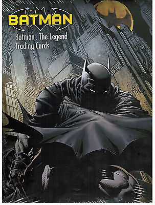 Batman the LEGEND Trading Cards by Cryptozoic - 1 Factory Sealed Box and Album