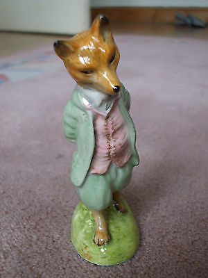 Royal Albert Beatrix Potter Foxy Gentleman