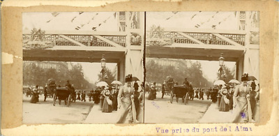 STEREO France, Paris L'exposition universelle de 1900 Panorama  STEREO Fran