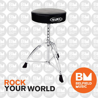 Mapex T270A Drum Throne Round 12inch 2.5inch Double Braced Stool