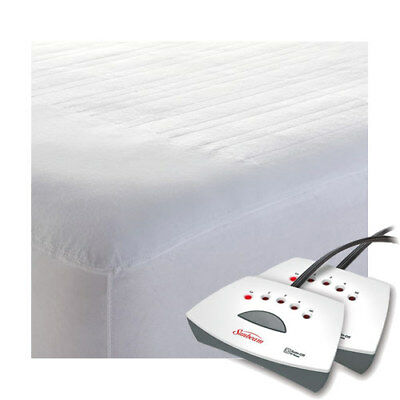 Sunbeam Non-Woven Thermofine Heated Electric Mattress Pad - Queen King Sizes