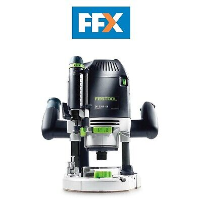 Festool 574396 OF2200 EB-Set 110v 1/2in Router 2200w in Systainer 4 T-Loc
