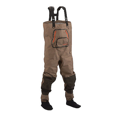 Size XXL 2XL Hodgman Pipestone Breathable Stockingfoot Chest Wader w/Work Table