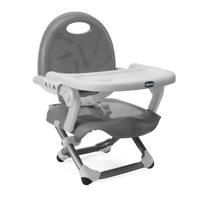 Chicco Pocket Snack Highchair Booster Seat (Silver) ON SALE! WAS £35