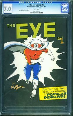 The Eye Special 1 Cgc 7.0 - White Pages - Cgc / Cbcs