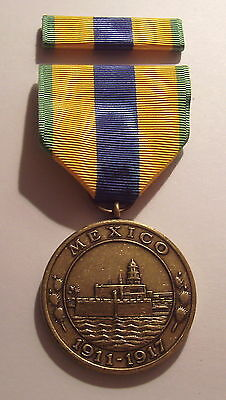 1911 U.S. Marine Corps  Mexican Service Military Medal with RIBBON