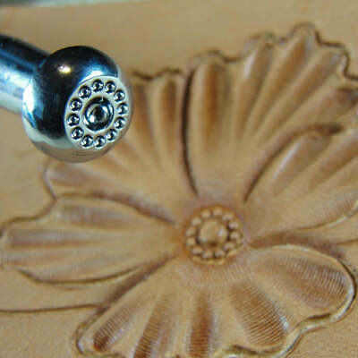 Leather Stamping Tool Japan Select #J504 18-Seed Flower Center Stamp