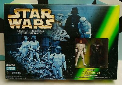 Star Wars The Power of the Force Escape the Death Star Game Board NIB