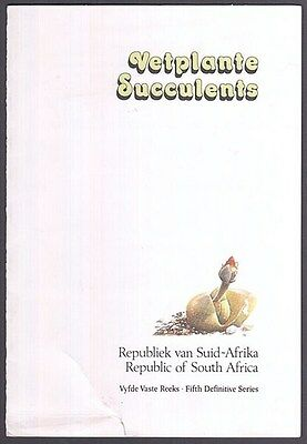 South Africa 1988 Succulents First Day Card (Id:677/d31154)