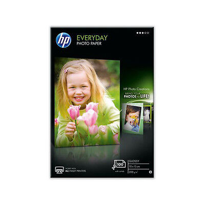 HP Paper CR757A Everyday Glossy Inkjet Photo Paper 200gsm 100 Sheet 10x15cm 4x6