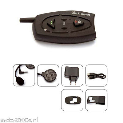 COPPIA BTEASYNGA KIT INTERFONO BLUETOOTH DA CASCO CELLULAR LINE MODELL BTEASYCOM