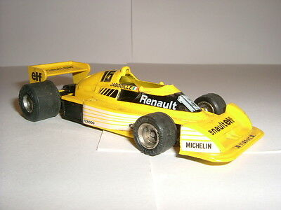 VINTAGE EIDAI MADE IN JAPAN RENAULT RS01 JABOUILLE F1 CAR CIRCA 80'S