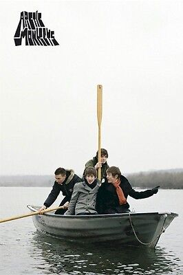 ARCTIC MONKEYS POSTER ~ BOAT 24X36 Music Group Alex Turner Cook Helders O'Malley