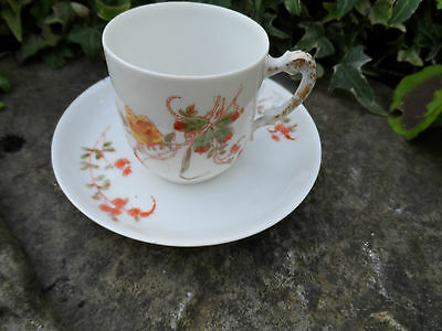 Antique Porcelain/china Limoges, Leon Sazerat & Blondeau tea sets handpainted