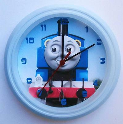 BRAND NEW KIDS WALL CLOCK with THOMAS THE TANK ENGINE  FREE P&P