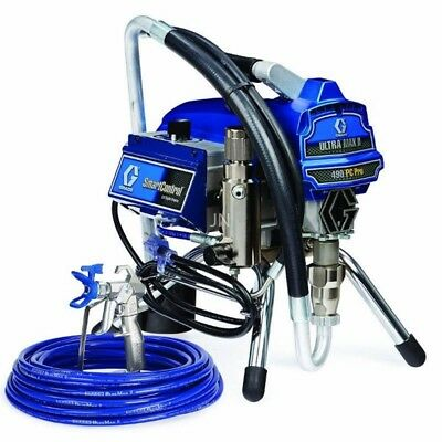 Graco Ultra Max II 490 PC Pro Airless Paint Sprayer Stand 17C327 Old # 249911