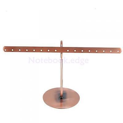 Retail Copper Earring Jewelry Stand Display Holder Rack