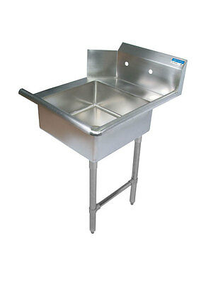 """Commercial Stainless Steel 48"""" Right Side Soiled Dish Table NSF"""