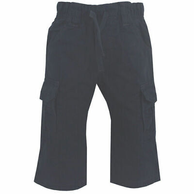 Timberland Kids Cargo Pants Cotton Boys Navy Trousers (T0650 408 U90)