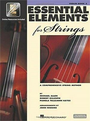 Hal Leonard Essential Elements 2000 for Strings with Online Audio Book 2, Violin