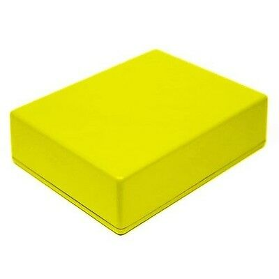 YELLOW Guitar Pedal Enclosure - professionally painted - Hammond 1590BB size