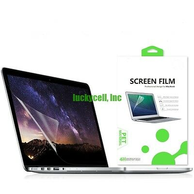 Clear LCD Guard Screen Protector For Apple MacBook Air Pro Retina 11 13 15 Inch
