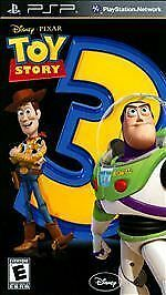 Disney Pixar TOY STORY 3 The Video Game for PSP PlayStation Portable New Sealed