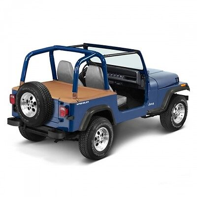 Jeep Wrangler YJ Duster Deck Cover Heckabdeckung Spice Denim Bestop 92-95
