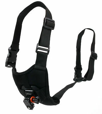 Dog Harness with Adjustable Straps and Chest Support for GoPro HERO Action Cams