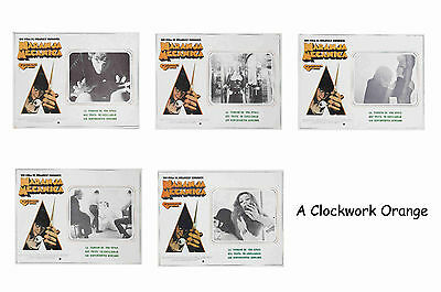 A Clockwork Orange - Set Of 5 A4 Sized Reprint Lobby Posters