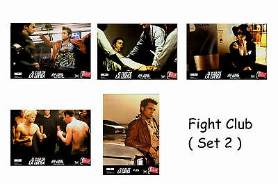 Fight Club - Set Of 5 A4 Sized Reprint Lobby Posters # 2
