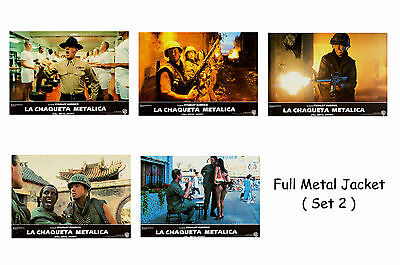 Full Metal Jacket - Set Of 5 A4 Sized Reprint Lobby Posters # 2