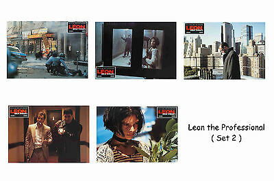Leon The Professional - Set Of 5 A4 Sized Reprint Lobby Posters # 2