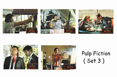 Pulp Fiction  - Set Of 5 A4 Sized Reprint Lobby Posters # 3