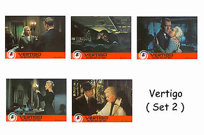 Vertigo  - Set Of 5 A4 Sized Reprint Lobby Posters # 2