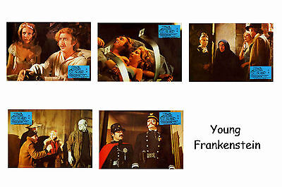 Young Frankenstein  - Set Of 5 A4 Sized Reprint Lobby Posters