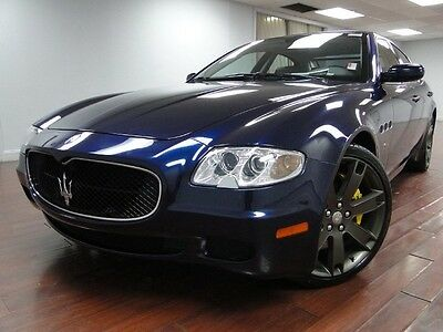 Maserati : Quattroporte 4.2L V8 1-Owner Clean Carfax RARE INTERIOR CALL NOW 855-394-6736! Manageable monthly payments and shipping are available!
