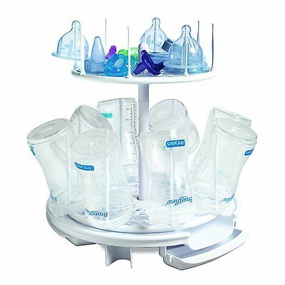 The First Years Spinning Drying Rack Baby Bottles Infant Clean Safety Sanitize